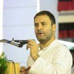 'கருணாநிதியின் அரசியல் இடத்தை ஸ்டாலின் நிரப்ப வேண்டும்...!' - ராகுல் காந்தி விருப்பம்..!