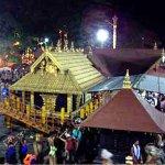 சபரிமலை கோயிலில் நாளை புதிய கொடிமரம் பிரதிஷ்டை செய்யப்படுகிறது