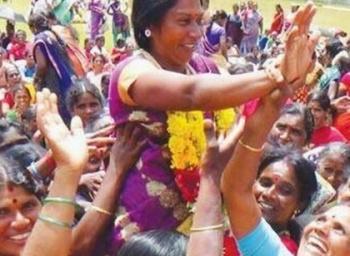 ''அந்த தமிழச்சியை அடிச்சு போடிமெட்டுக்கு அனுப்பு!''-  மிரட்டலுக்கு அஞ்சாத போராளி #VikatanExclusive