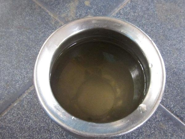 எண்ணெய் கலந்த நிலத்தடி நீர்