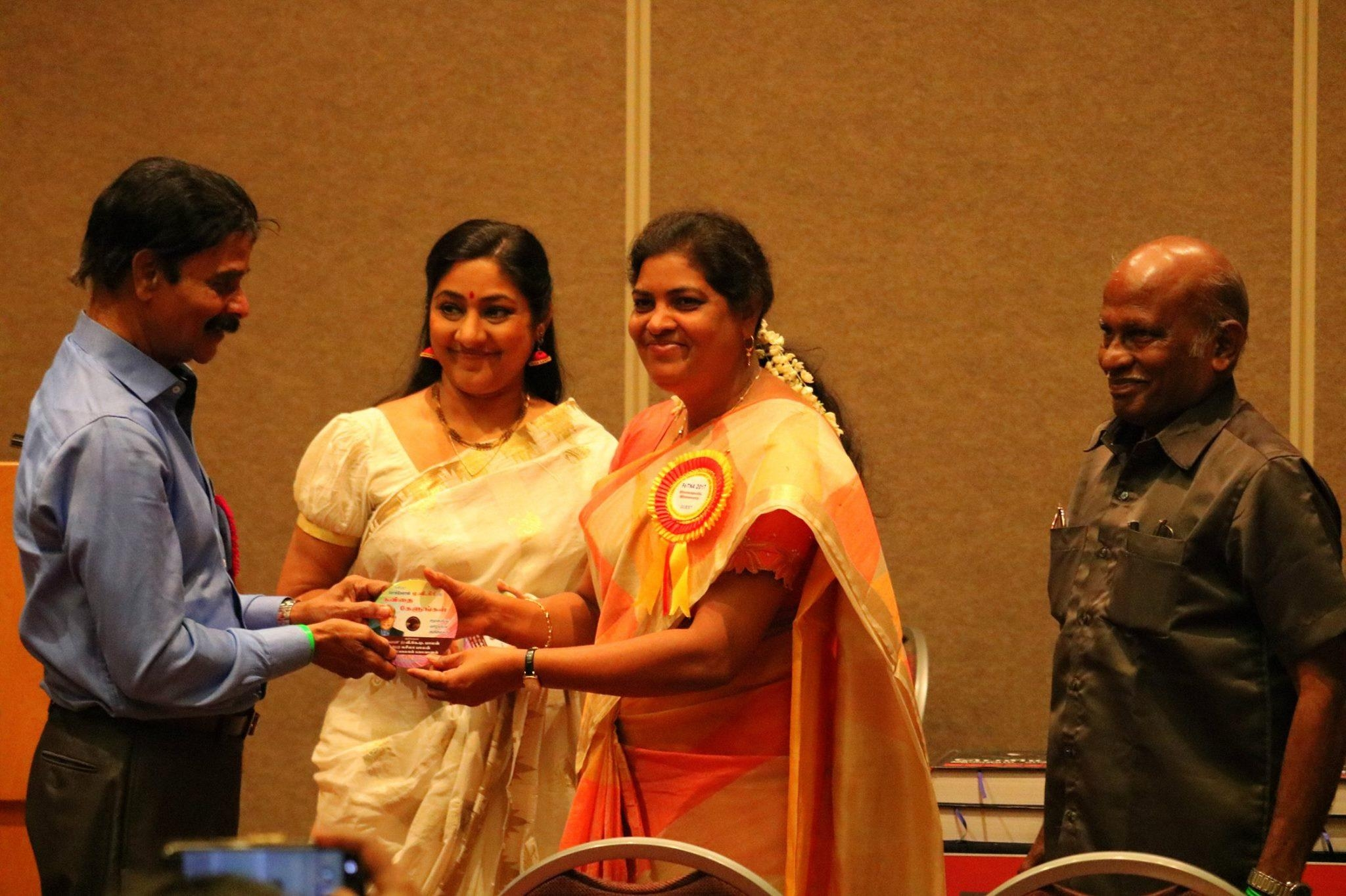 நடிகை ரோகிணி,கவிஞர் சுகிர்தராணி