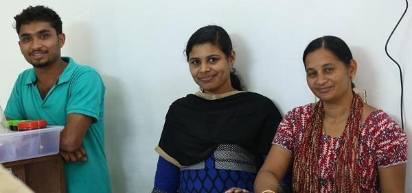 சிசி ஜெய்சன்,நீத்து ஜோசப், லிதின் கே.எஸ்