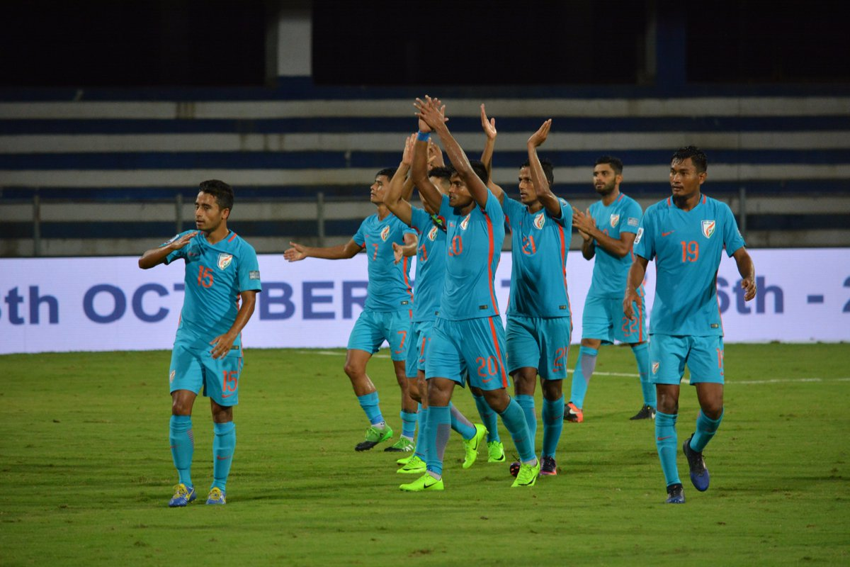 Indian Football Team rises in Football Team Rating
