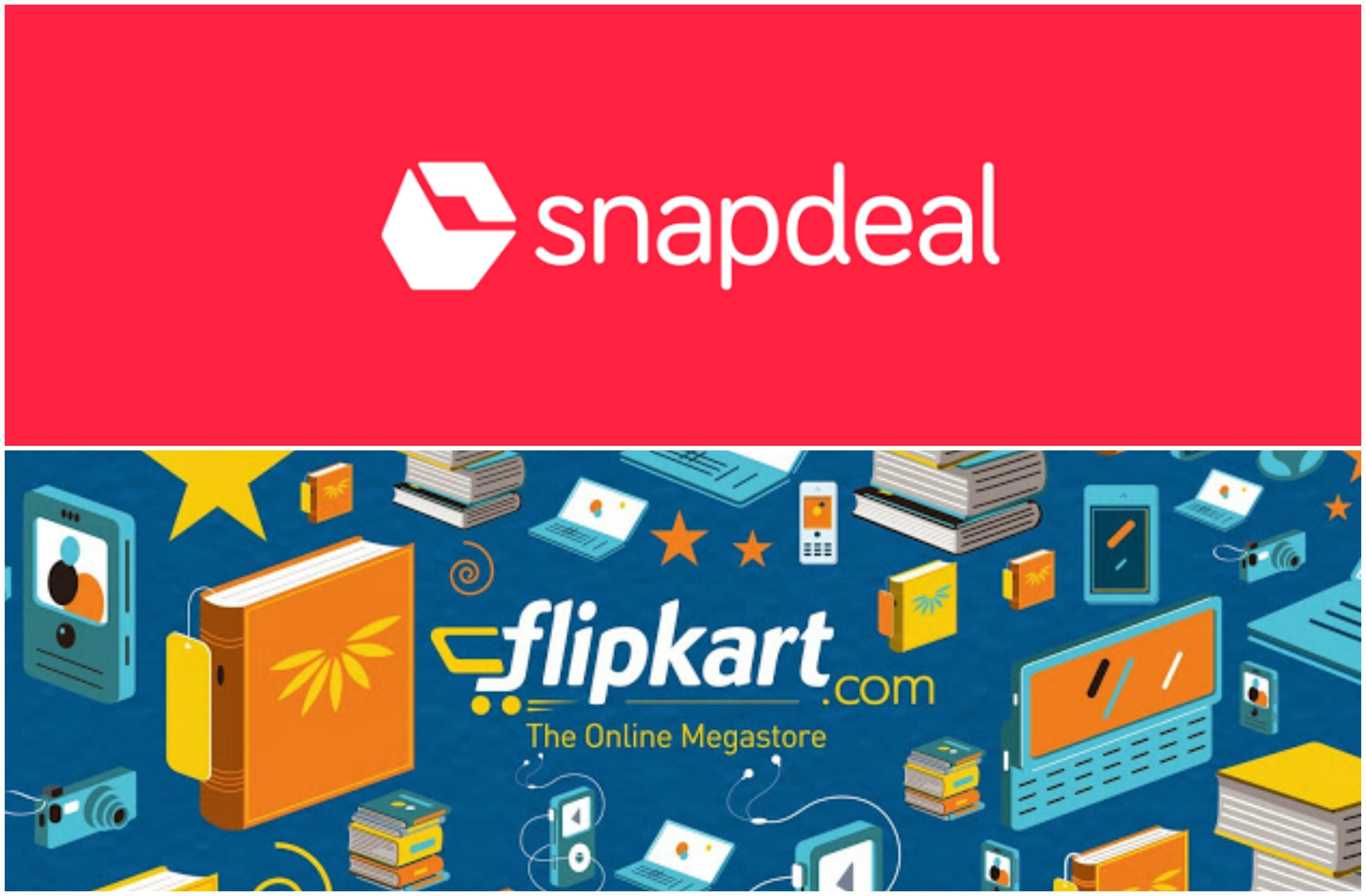 snapdeal flipkart