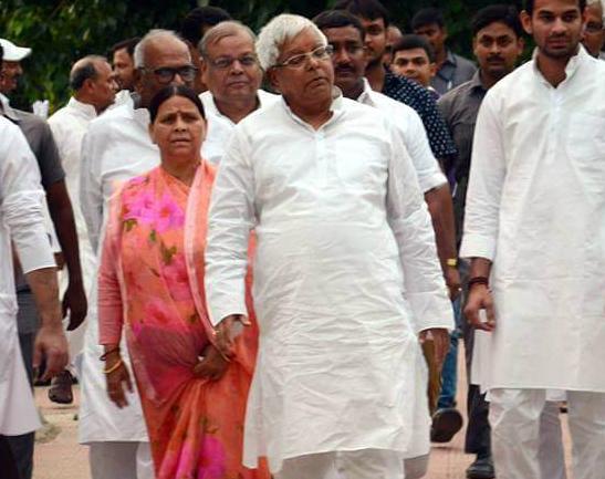 CBI raid Lalu Prasad Yadav