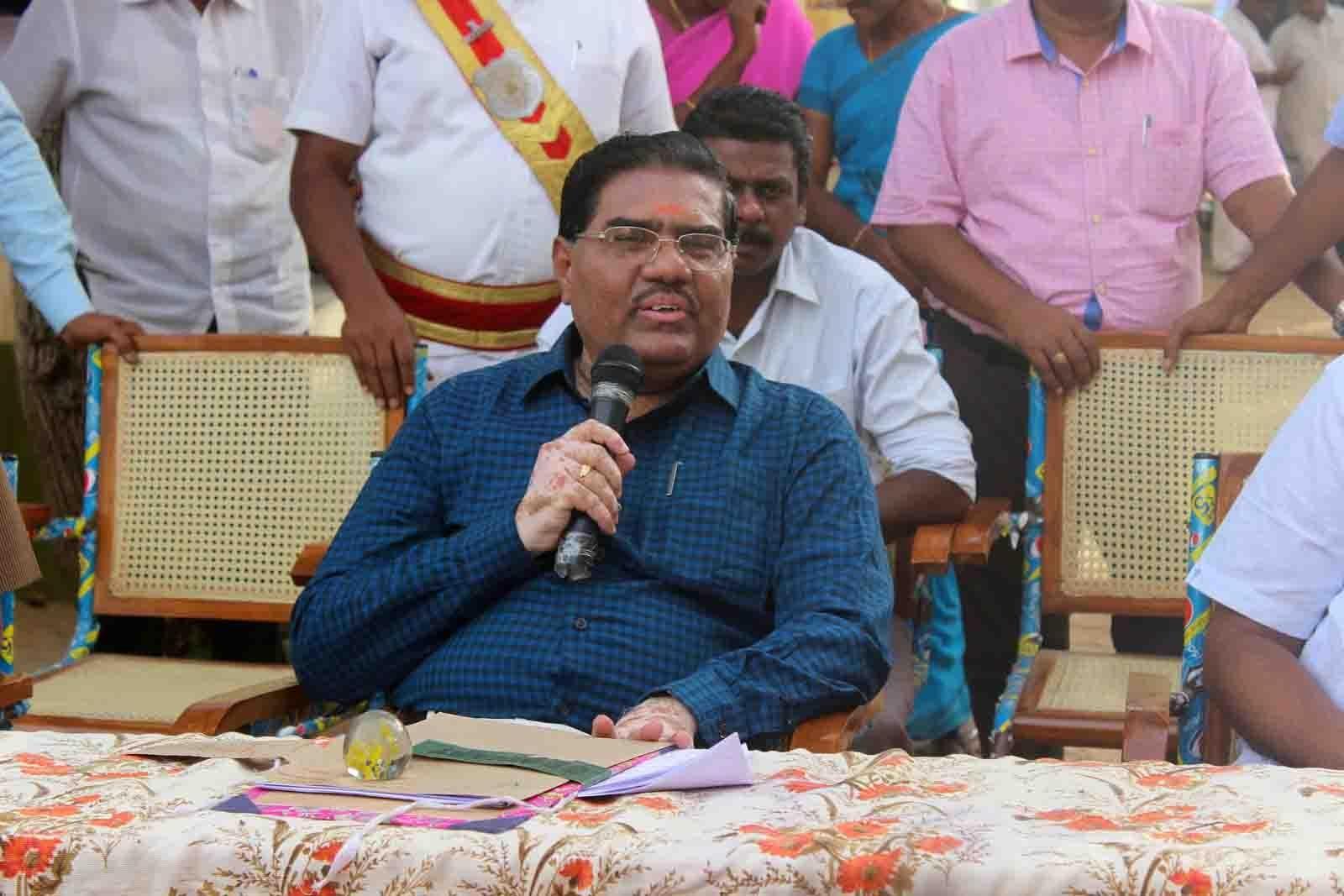 மாவட்ட ஆட்சியர் கோவிந்தராஜ்