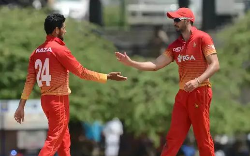 Zimbabwe Beats Srilanka in 4-th Match