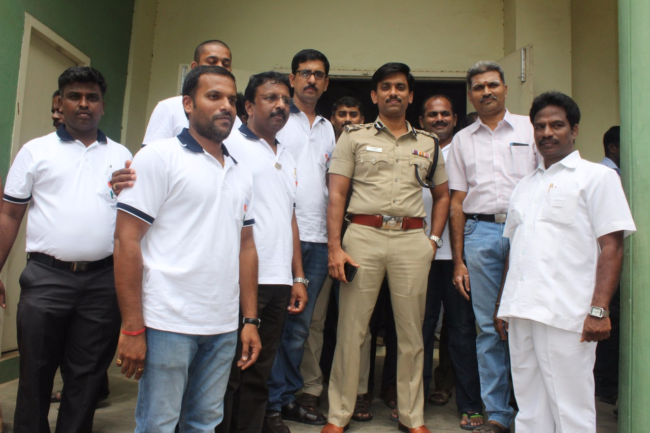 Trichy Police Commissioner Arun
