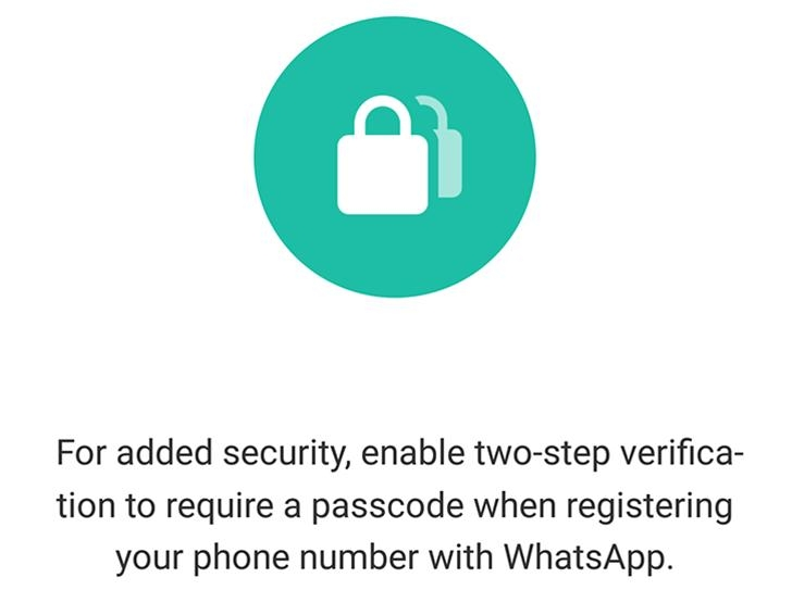 Whatsapp 2FA