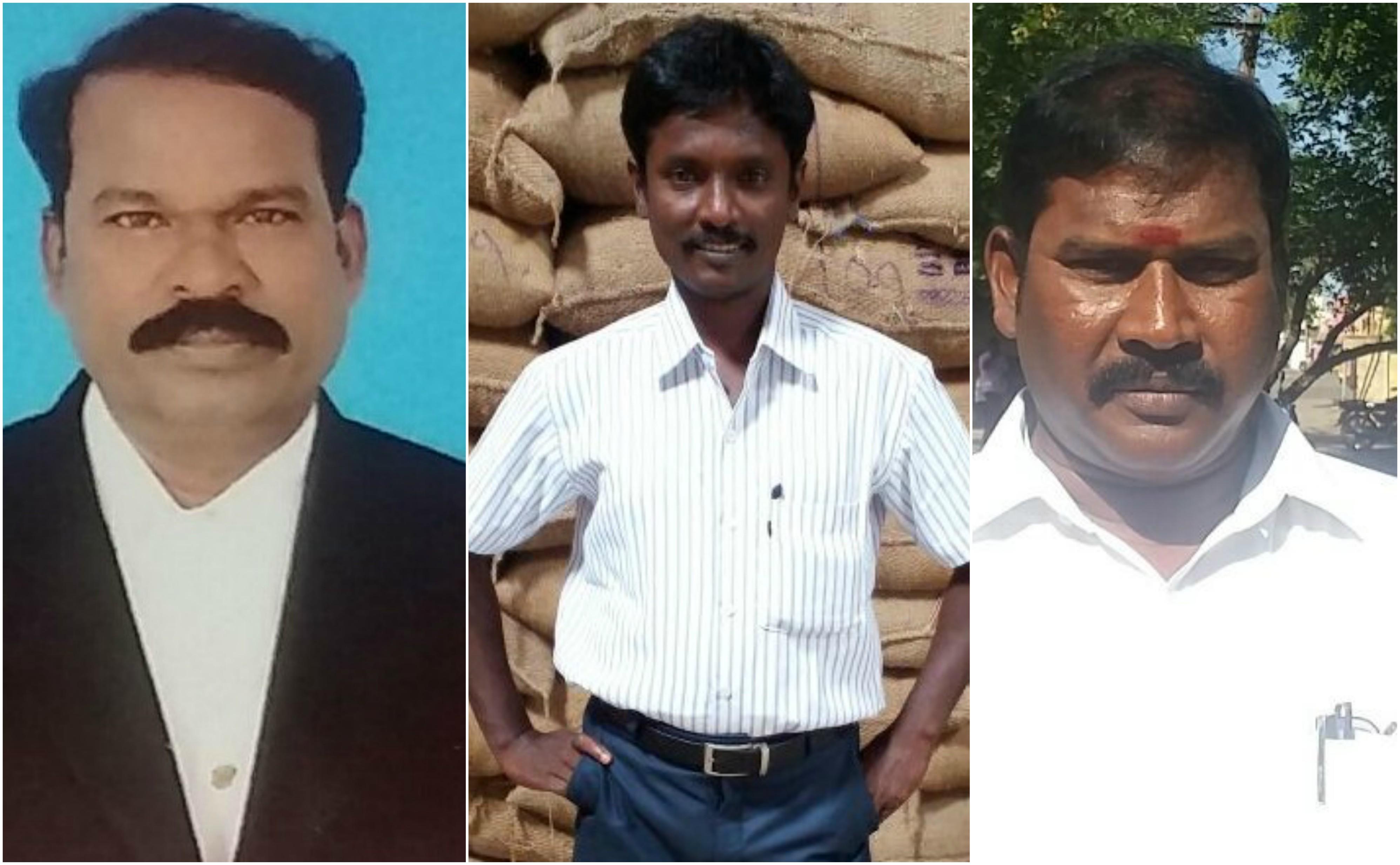 தலைவர் வீரராகவன், பொதுச் செயலாளர் சரவணன், பொருளாளர் பாஸ்கரன்