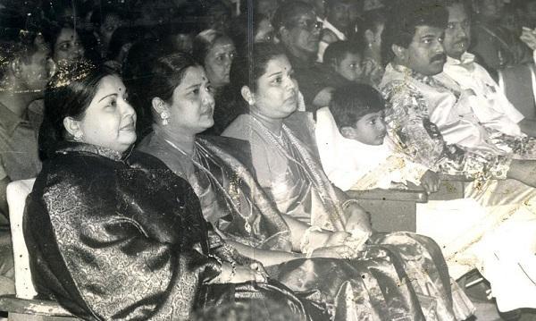 ஜெயலலிதா, சசிகலா, இளவரசி, விவேக்