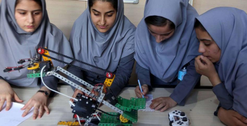 Robotics afghan girls