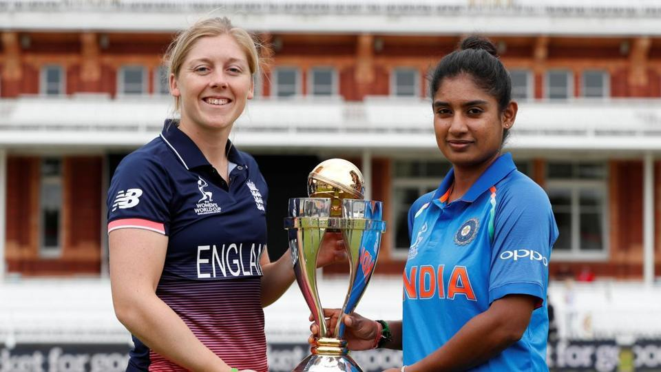 Heather Knight and Mithali raj