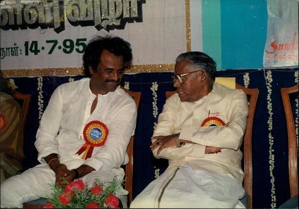ரஜினி - ஆர். எம். வீரப்பன்
