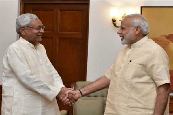 Modi and NIthish kumar