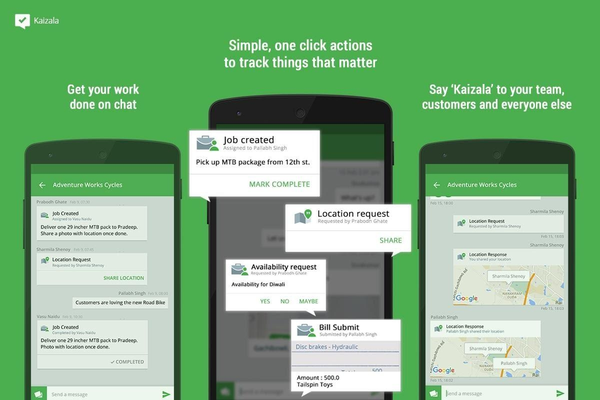 Kaizala Application
