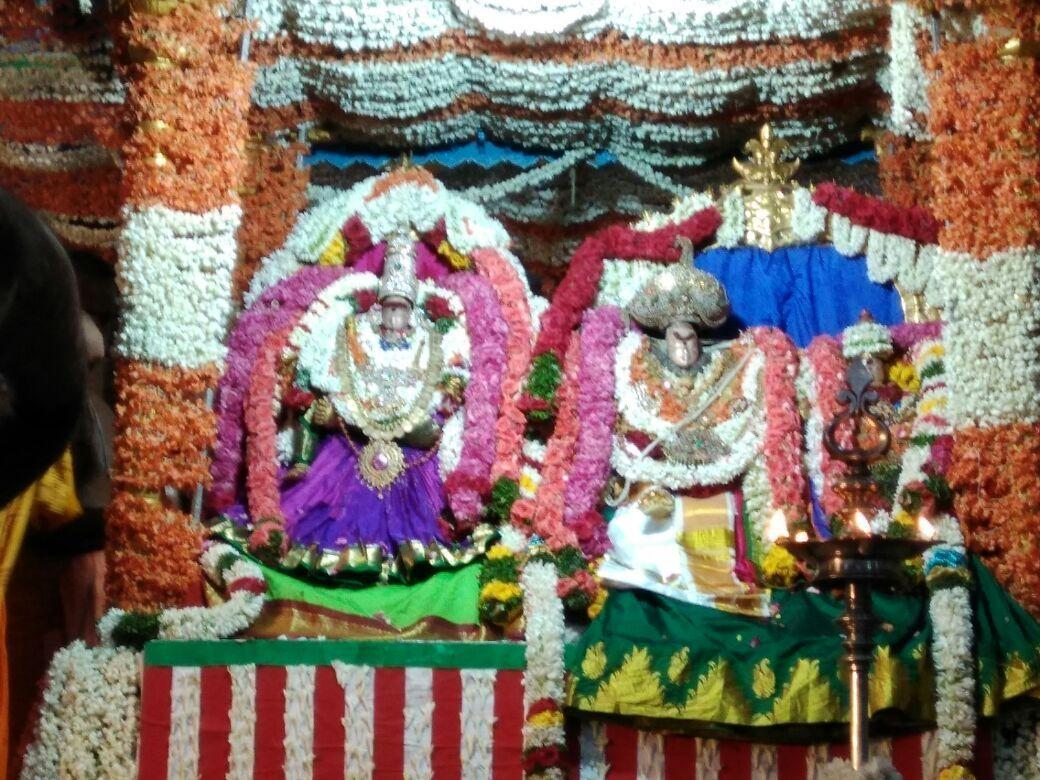 ராமநாதசுவாமி-பர்வதவர்த்தினி திருக்கல்யாணம்