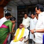 கருணாநிதியை சந்தித்தார் குடியரசு தலைவர் வேட்பாளர்