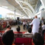 விமான நிலையத்தில் அமித்ஷா பொதுக்கூட்டம்: காங்கிரஸ் கண்டனம்!