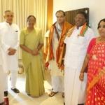'ராம்நாத் கோவிந்துக்கும் எனக்குமான மோதல் சாதி ரீதியிலானது அல்ல'- மீராகுமார்