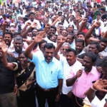 'டாஸ்மாக்கிற்கு எதிராகப் போராடுபவர்களுக்கு பாதுகாப்பு வேண்டும்.!': மதுரையில் திருமா பேச்சு!