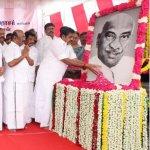 காமராஜர் 115-வது பிறந்தநாள்..! முதல்வர் எடப்பாடி பழனிசாமி மலர் தூவி மரியாதை