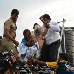 சென்னையில் டிராஃபிக் ராமசாமி தற்கொலை மிரட்டல்!
