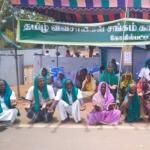 கோவில்பட்டியில் 10 நாளாக நடந்த விவசாயிகள் போராட்டம் வாபஸ்!