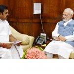 ஜனாதிபதி, பிரதமருடன் முதல்வர் எடப்பாடி பழனிசாமி சந்திப்பு!