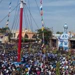 தூத்துக்குடி பனிமயமாதா பேராலயத் திருவிழா கொடியேற்றத்துடன் தொடங்கியது!