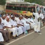 மத்திய அரசைக் கண்டித்து மார்க்சிஸ்ட் கட்சியினர் கண்டன ஆர்ப்பாட்டம்!