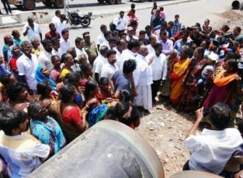 சென்னை காசிமேடு டூ மணலி: எண்ணெய்க் குழாய் போராட்டத்தில் கமிஷன் பின்னணி!