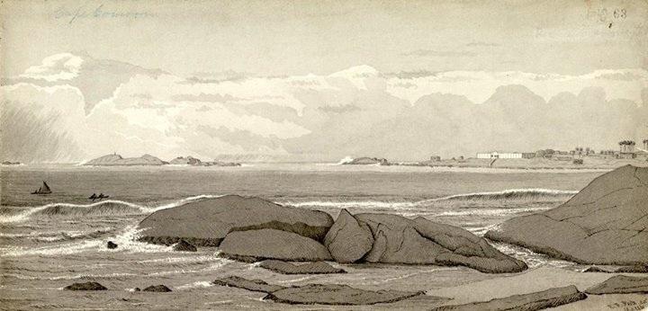 ராபர்ட் ஃபூட் வரைந்த குமரிக் கடலின் ஓவிய ஆவணப்படம்