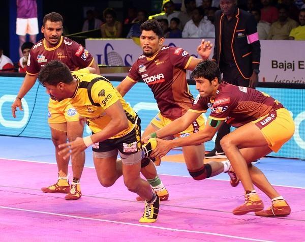 Pro Kabaddi UP Yoddha Vs Telugu Titans