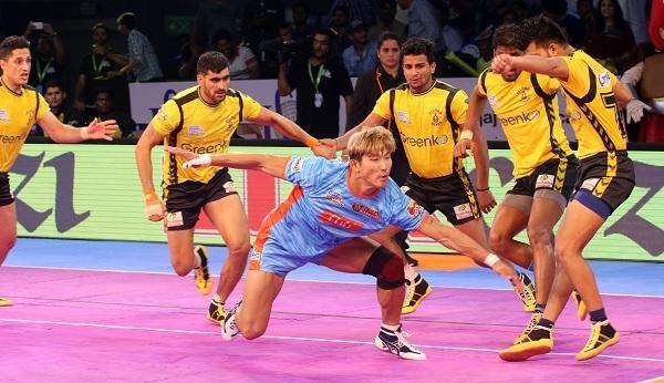 Pro Kabaddi : Telugu Titans Vs Bengal Warriors