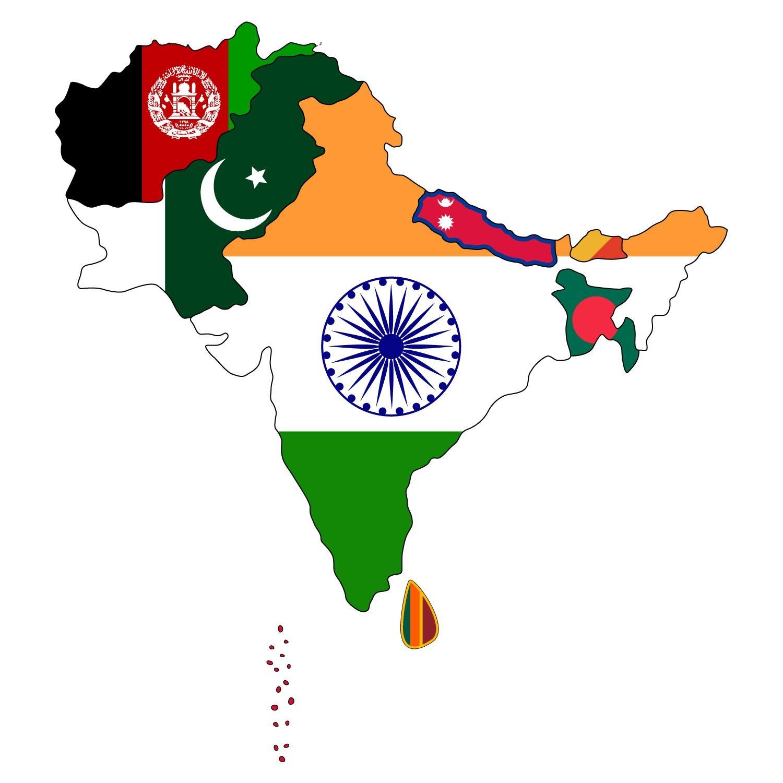 2100, தெற்கு ஆசியா,