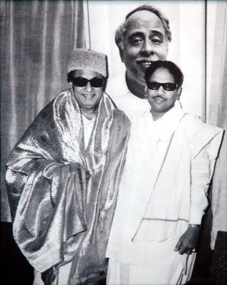 எம்.ஜி.ஆர்-கருணாநிதி நட்பு