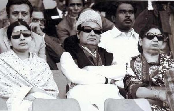 எம்.ஜி.ஆர்- ஜானகி -ஜெயலலிதா