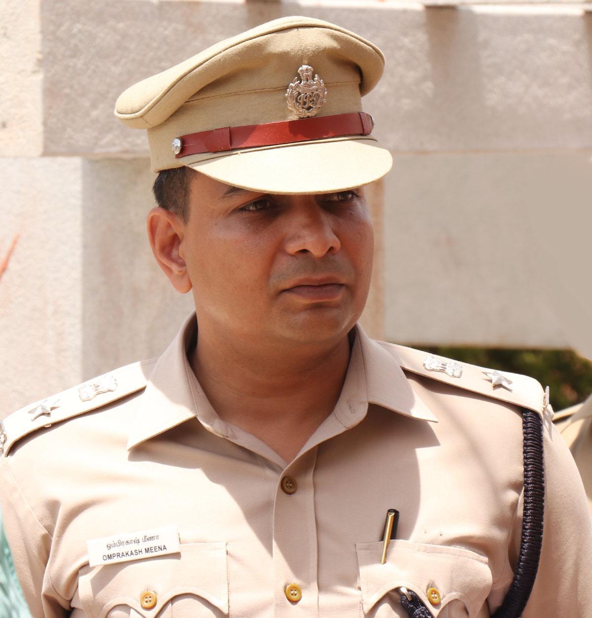 எஸ்.பி ஓம்பிரகாஷ் மீனா