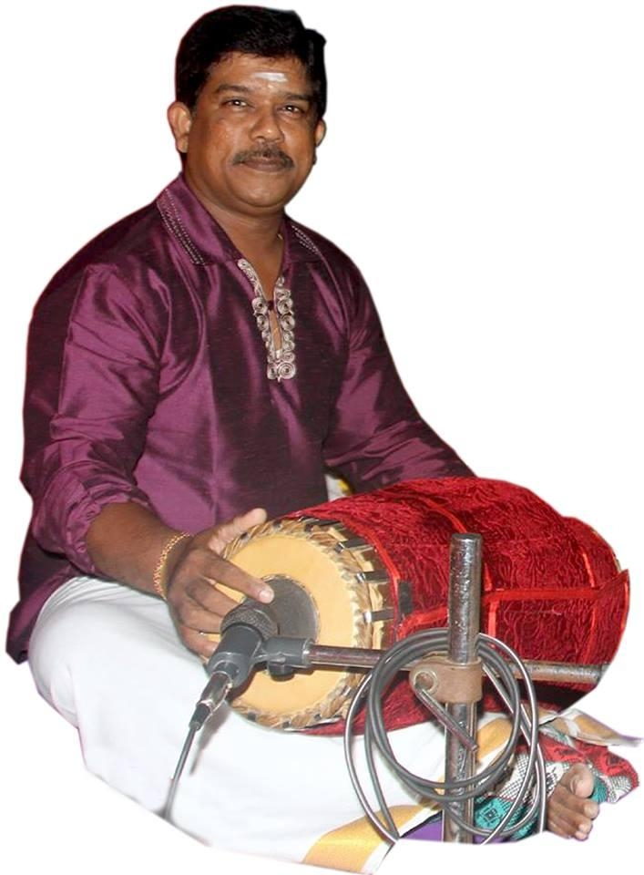 ஈழத் தமிழர் மிருதங்கக் கலைஞர் கண்ணதாசன்