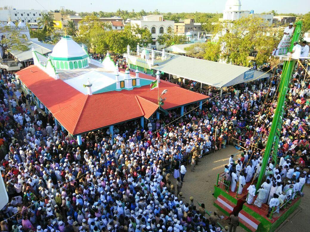 ஏர்வாடி தர்ஹா சந்தனக்கூடு விழா