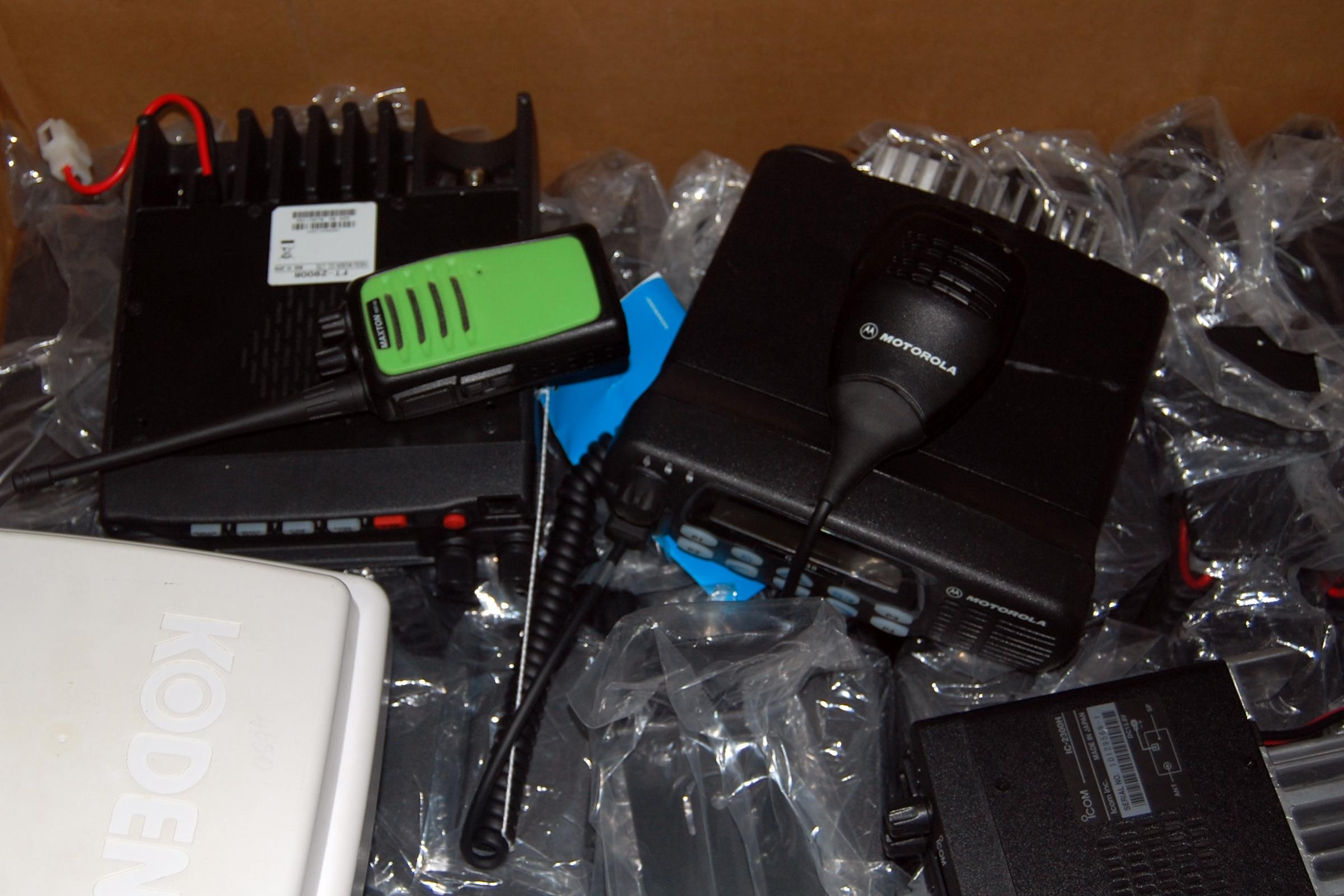 walky talky seized