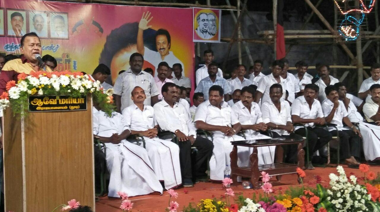 ratha ravi speech