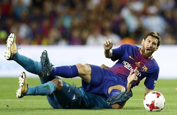 Barcelona player Messi