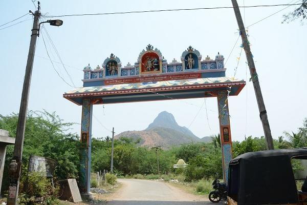 ராமகிரி வாலீஸ்வரர் ஆலய தோரணவாயில்
