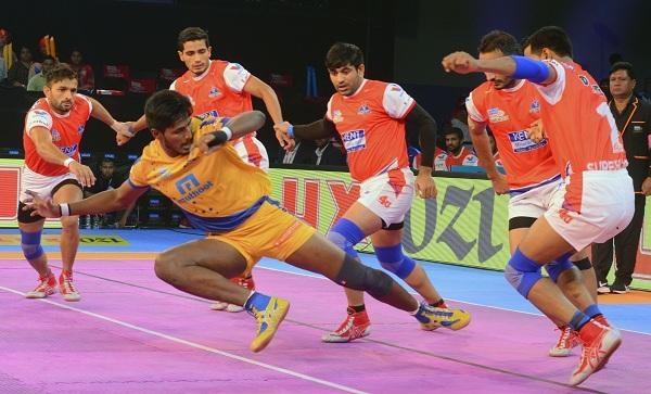 Pro Kabaddi: Haryana Steelers – Tamil Thalaivas