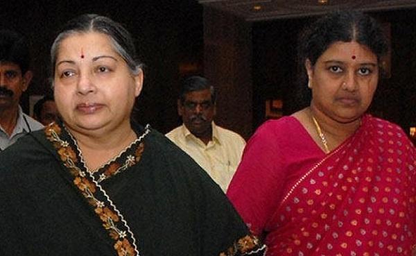 ஜெயலலிதா சசிகலா