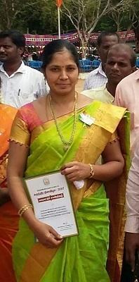 விஜயலட்சுமி - அரசுப் பள்ளி ஆசிரியை