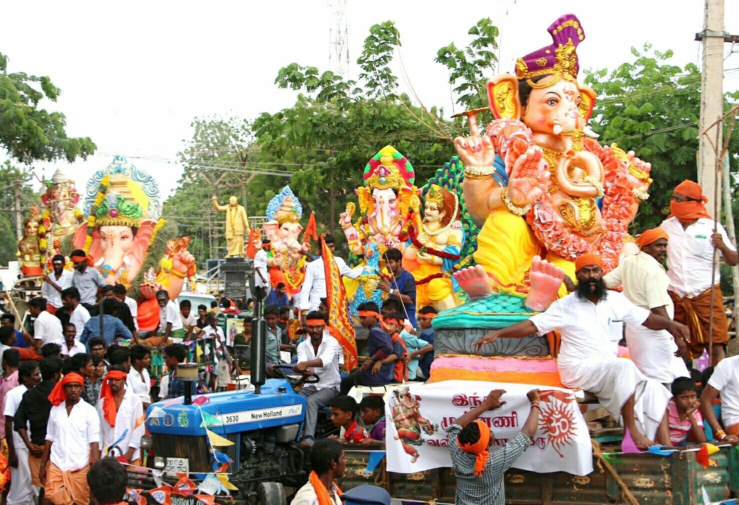 விநாயகர் சதூர்த்தி ஊர்வலம்
