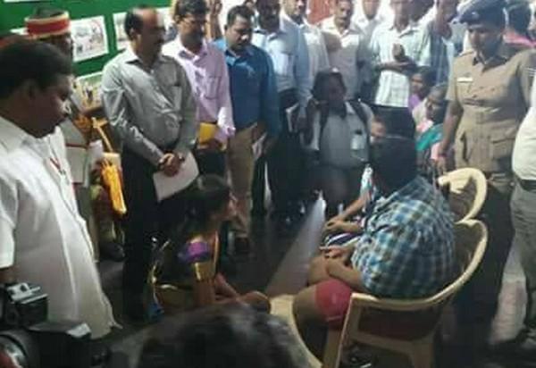 சேலம் மாவட்ட முதல் பெண் கலெக்டர்